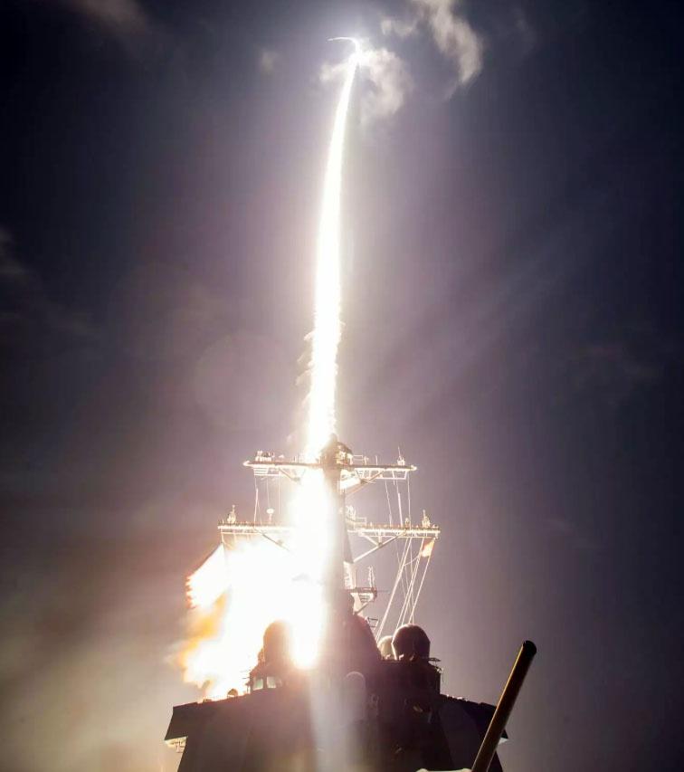 Испытания SM-3 Block IIA, предназначенных для перехвата МБР.