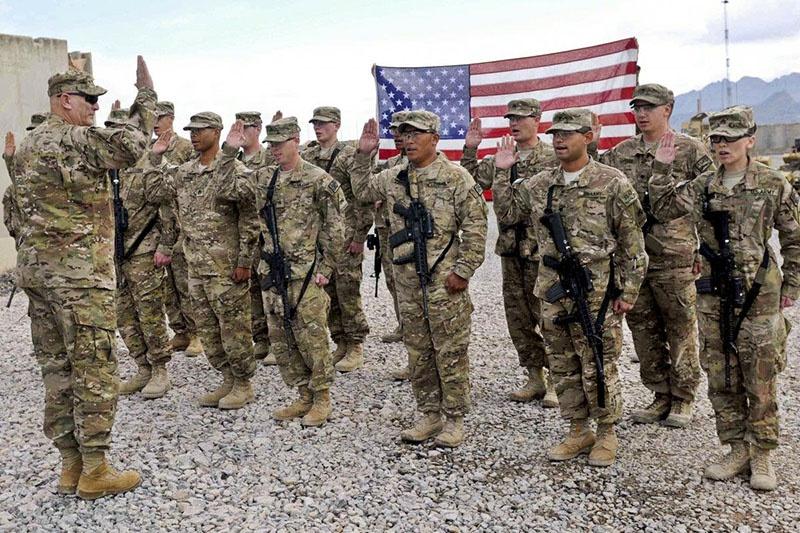 Американские силы продолжат находиться на сирийской земле.