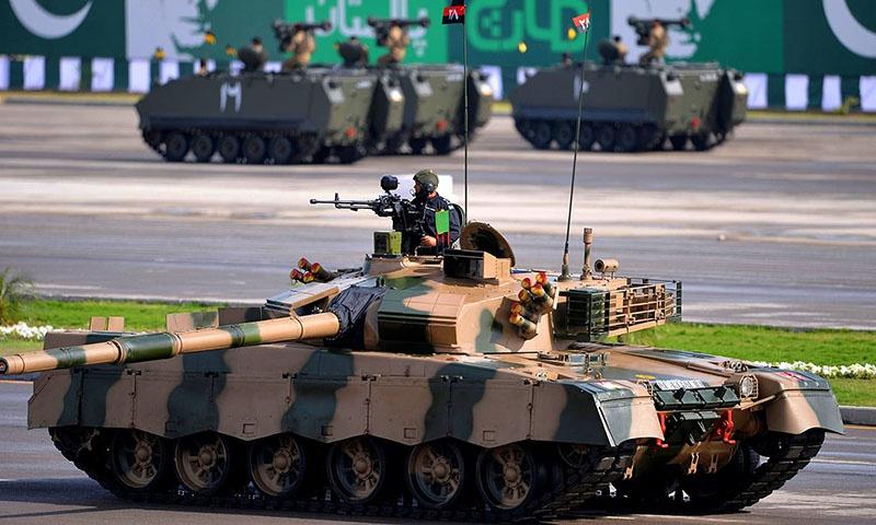 Пакистанский танк «Аль-Халид».