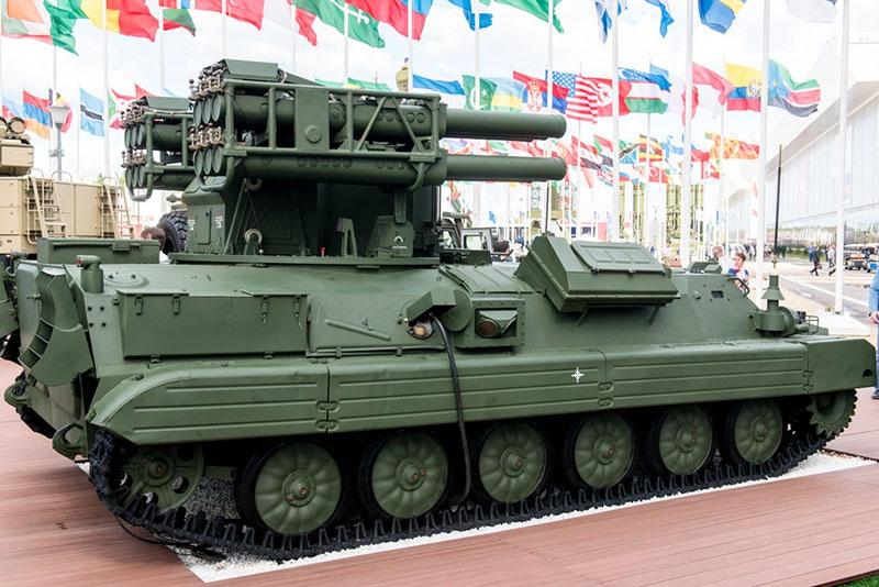 Перспективный зенитный ракетный комплекс «Сосна».