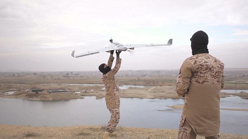 Все более привычным средством нападения террористов становятся беспилотные летательные аппараты.