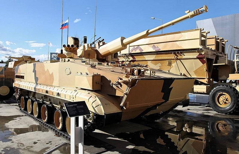 Главное оружие «Деривации-ПВО» - новейшая 57-мм автоматическая пушка.