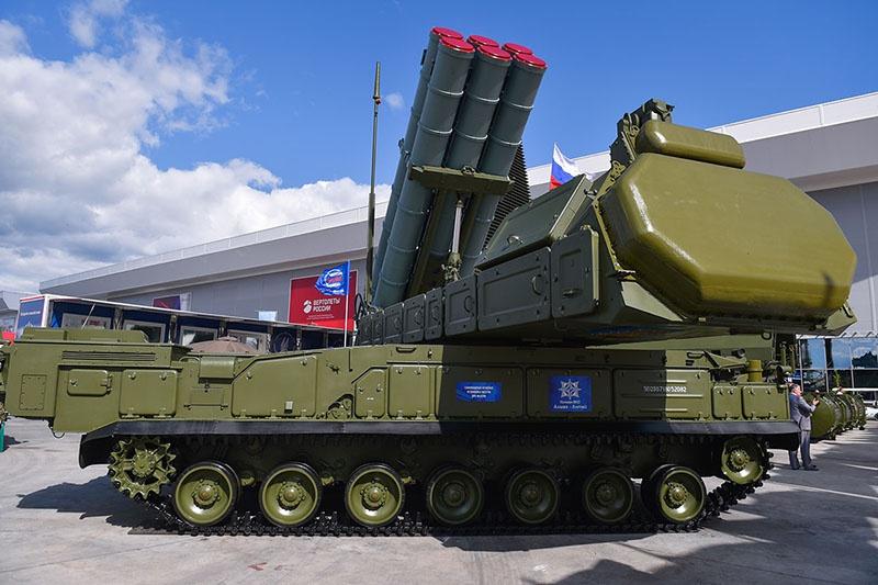 Комплекс ПВО - ЗРК «Бук-М2/М3.