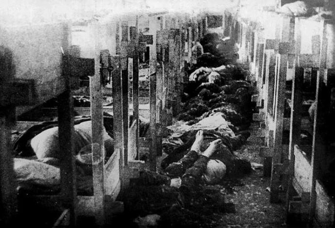 Лагерь Кивиыли. Всего в Эстонии было создано 25 концлагерей.