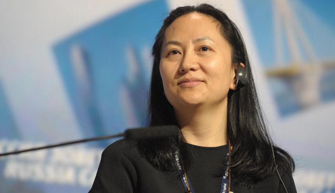 Финансовый директор компании Huawei Мэн Ваньчжоу.