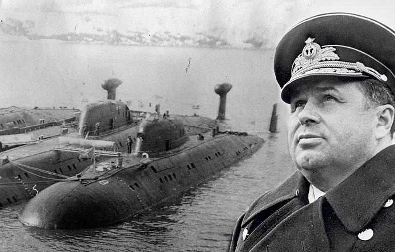 Контр-адмирал Анатолий Сорокин.