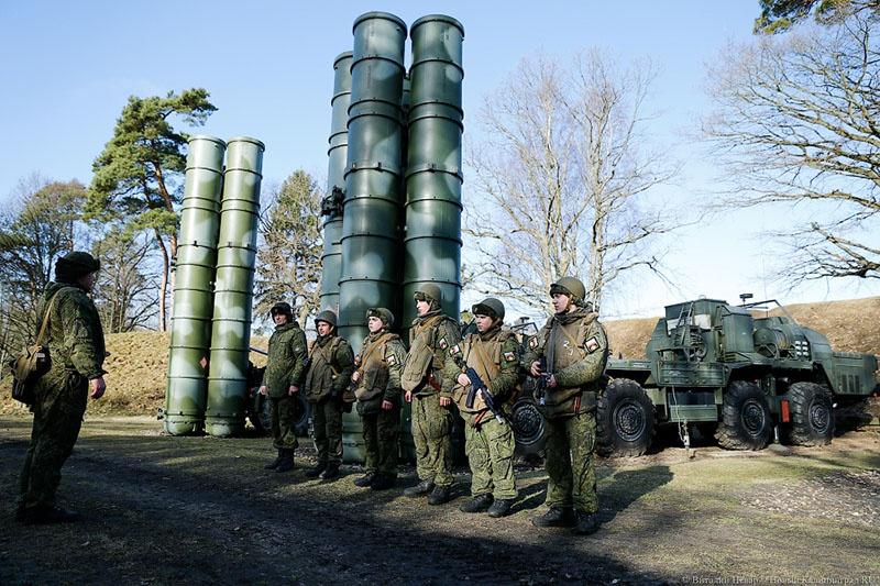 В Калининградской области размещен полк ПВО на базе зенитно-ракетного комплекса С-400.