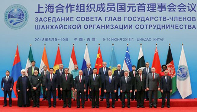 Шанхайская организация сотрудничества является по сути надстройкой, объединяющей китайскую, индийскую и российскую сферы интересов.