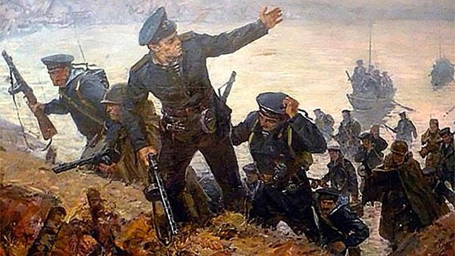Десант героев: как 55 советских морских пехотинцев уничтожили более 700 фашистов