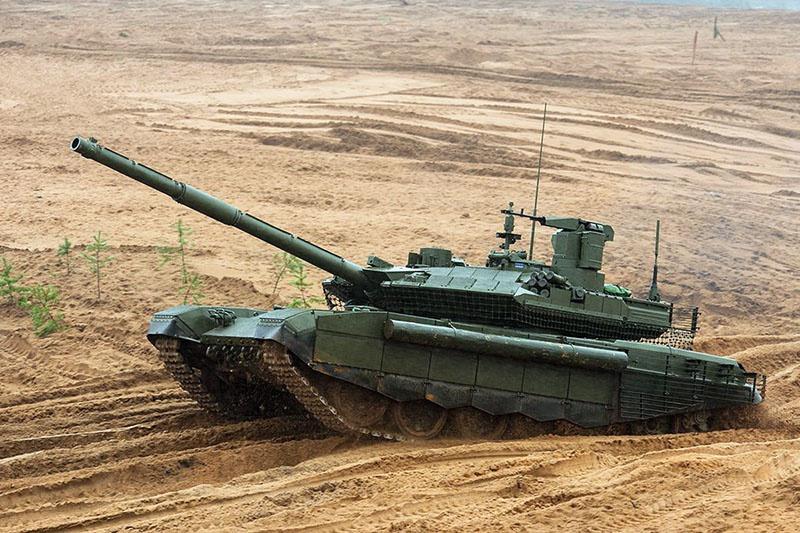 Т-90м в поле нет равных.