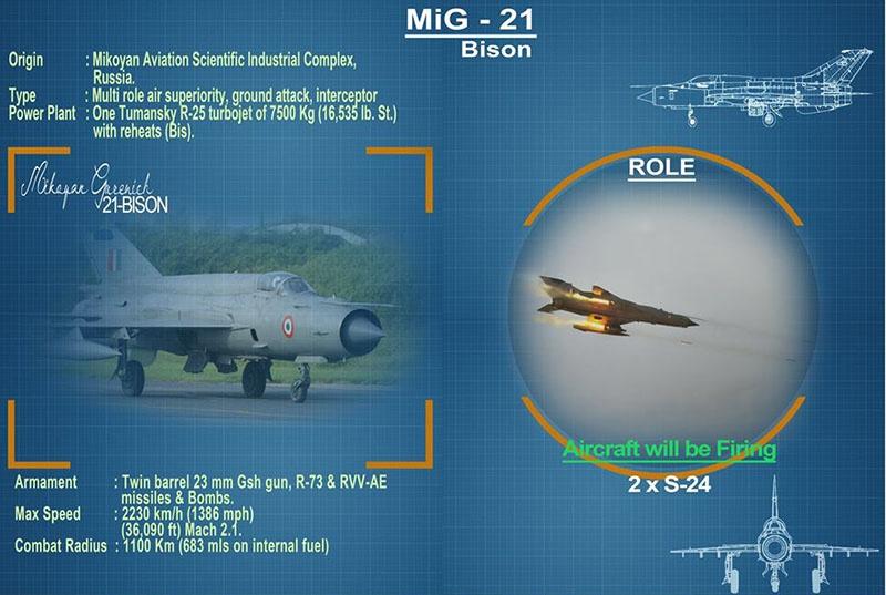 МиГ-21бис Bison.