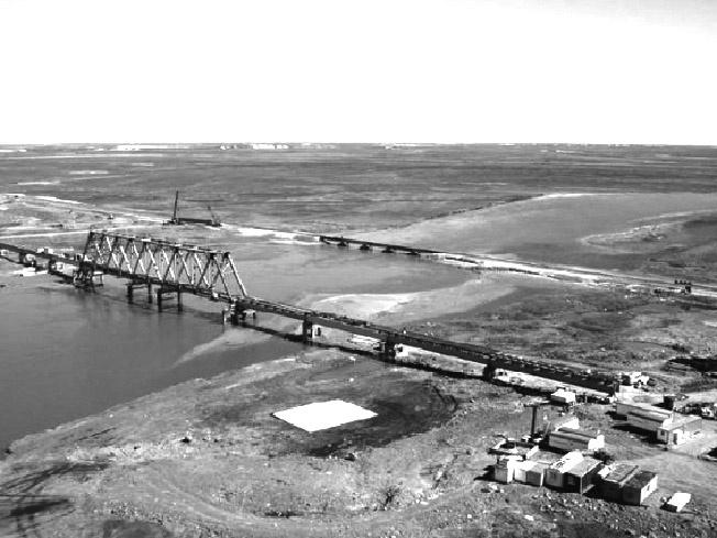 Строительство трассы Тюмень – Сургут.