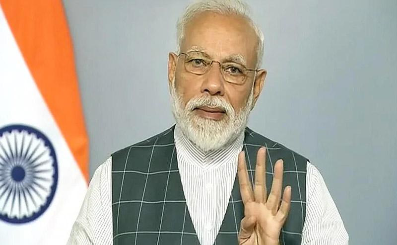 Премьер-министр Республики Индии Нарендра Моди.