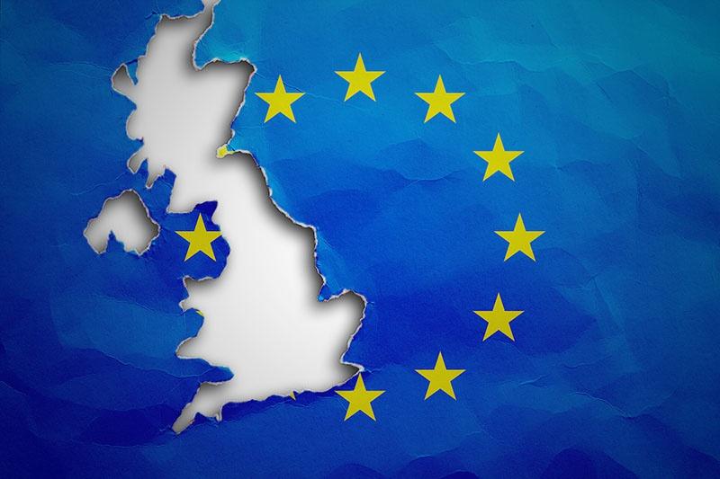 Евросоюз без Великобритании.