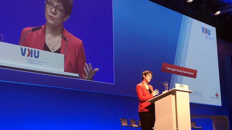 Аннегрет Крамп-Карренбауэр выступила с очередным амбициозным предложением.