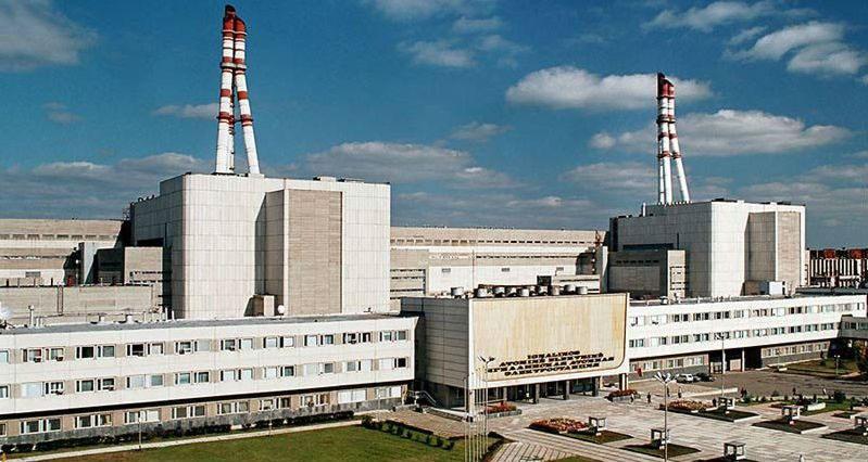 Построенная в советские времена Игналинская АЭС.