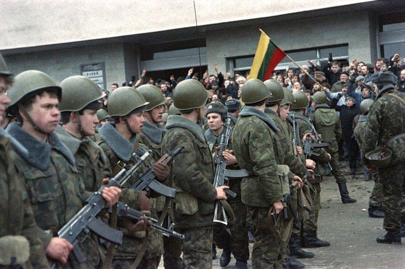 Штурм вильнюсской телебашни 13 января 1991 года.