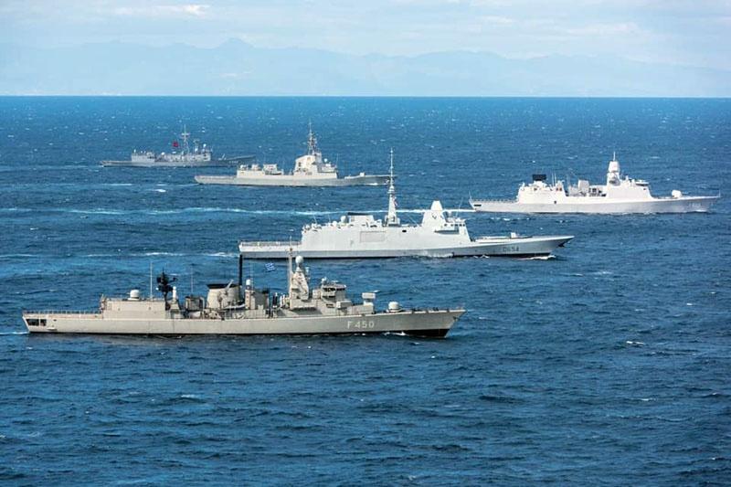 В минувшем году корабли НАТО трижды заходили в Чёрное море.