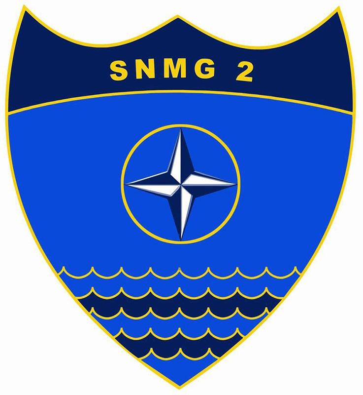 Эмблема 2-й постоянной военно-морской группы НАТО (SNMG2).