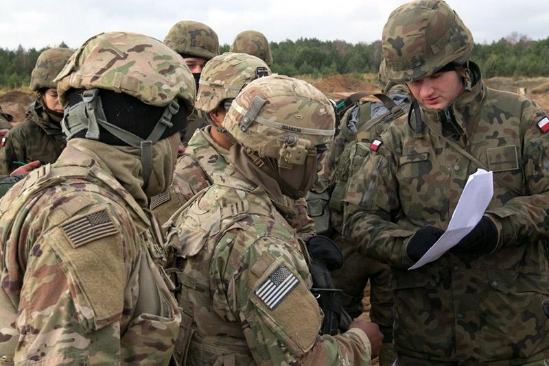 Операция НАТО Atlantic Resolve 2017 в Польше.