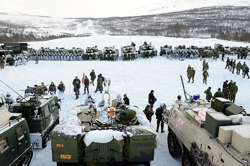 В учениях НАТО Cold Response в 2018-ом году участвовали военнослужащие из 30 стран.