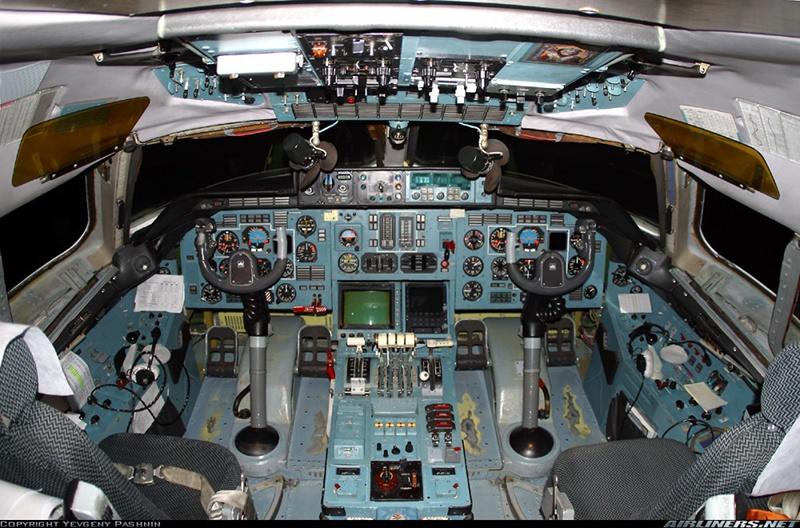 Кабина Ан-124.