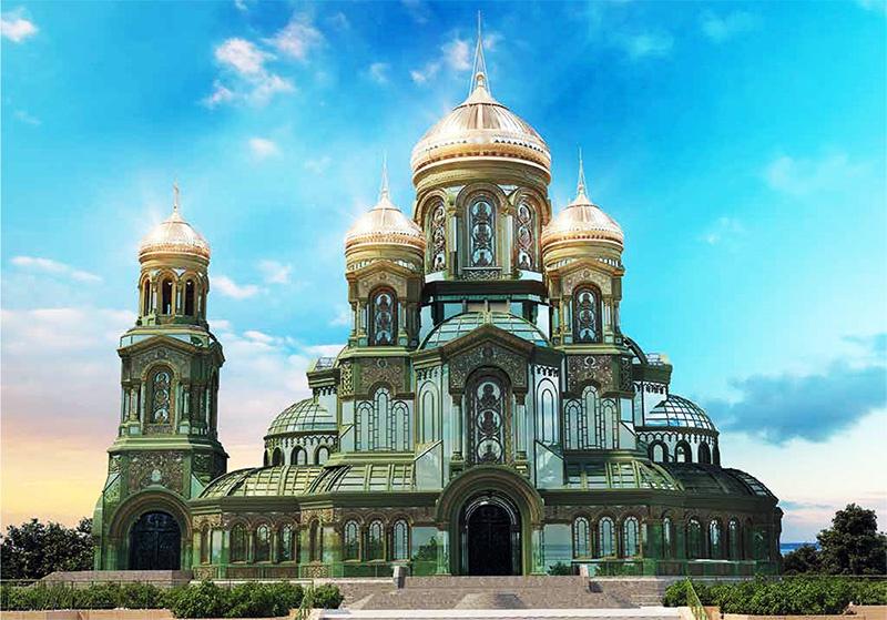 Главный храм Вооружённых сил по размерам станет третьим в стране.
