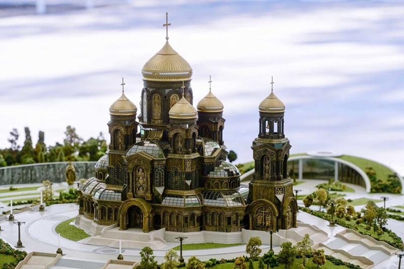 3D-модель храма вызвала интерес многих специалистов на выставке «Современная русская церковная архитектура» в Венеции.