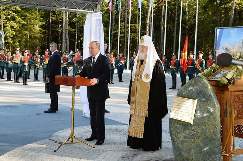19 сентября 2018 года прошла церемония освящения закладного камня нового храма.