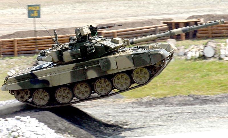 Т-90 назвали «летающим танком».