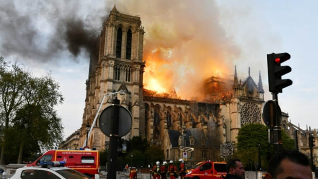 Пожар в Нотр-Дам - предвестник конца европейской цивилизации