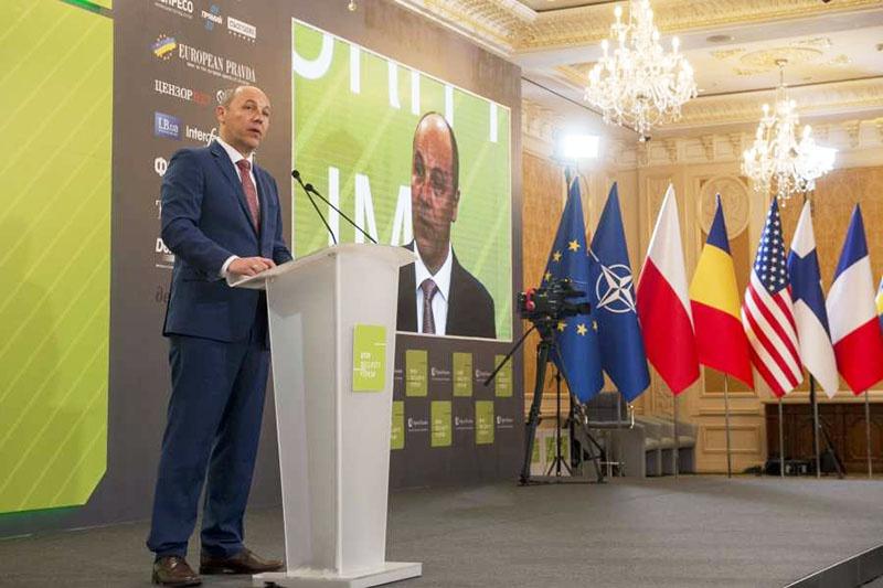 По инициативе спикера Рады Андрея Парубия Украина войдёт в НАТО обязательно.