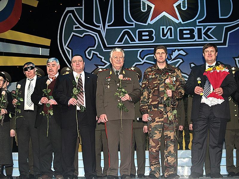 На мероприятии ветеранов-афганцев.