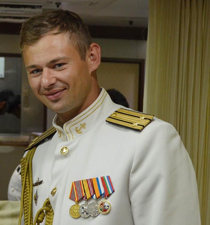 Командир «Бойкого» капитан 2 ранга Роман Довгайлов.