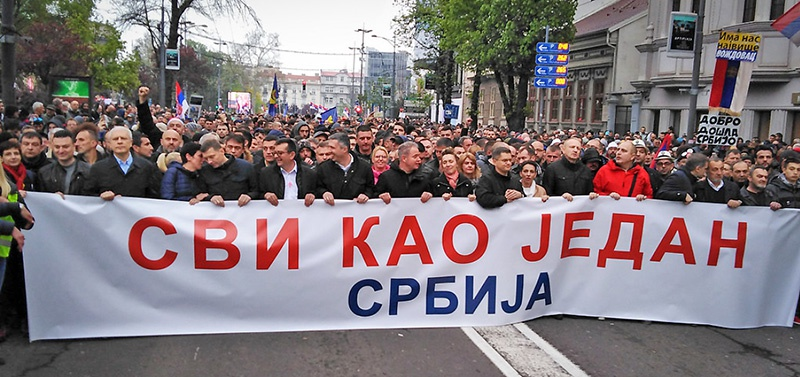 Все как один - место президента может занять любой серб.