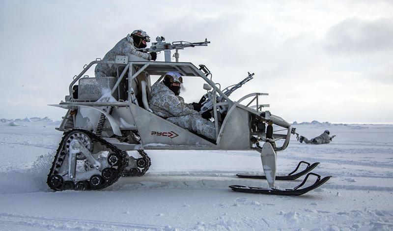 Арктическая модификация «Чаборза-М3».