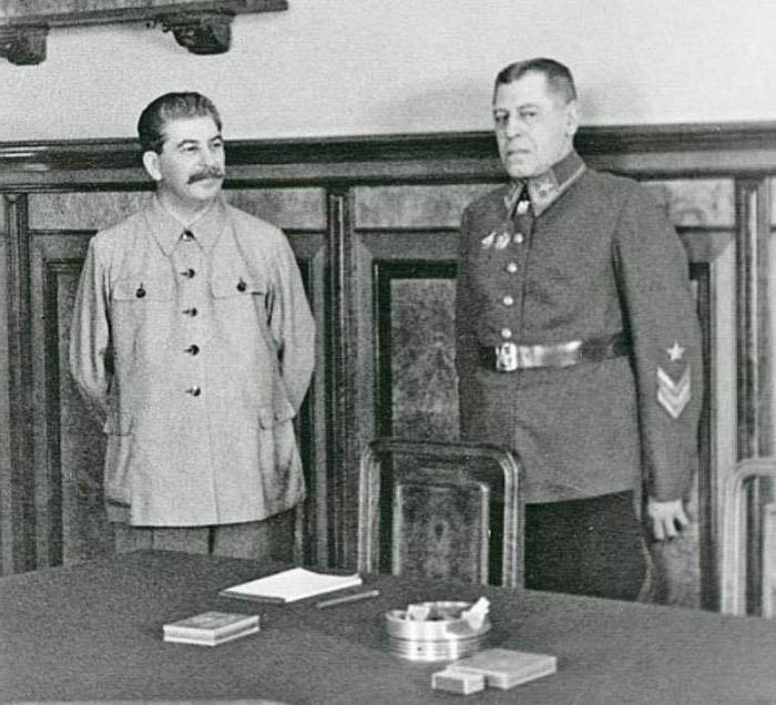 На докладе у Сталина.