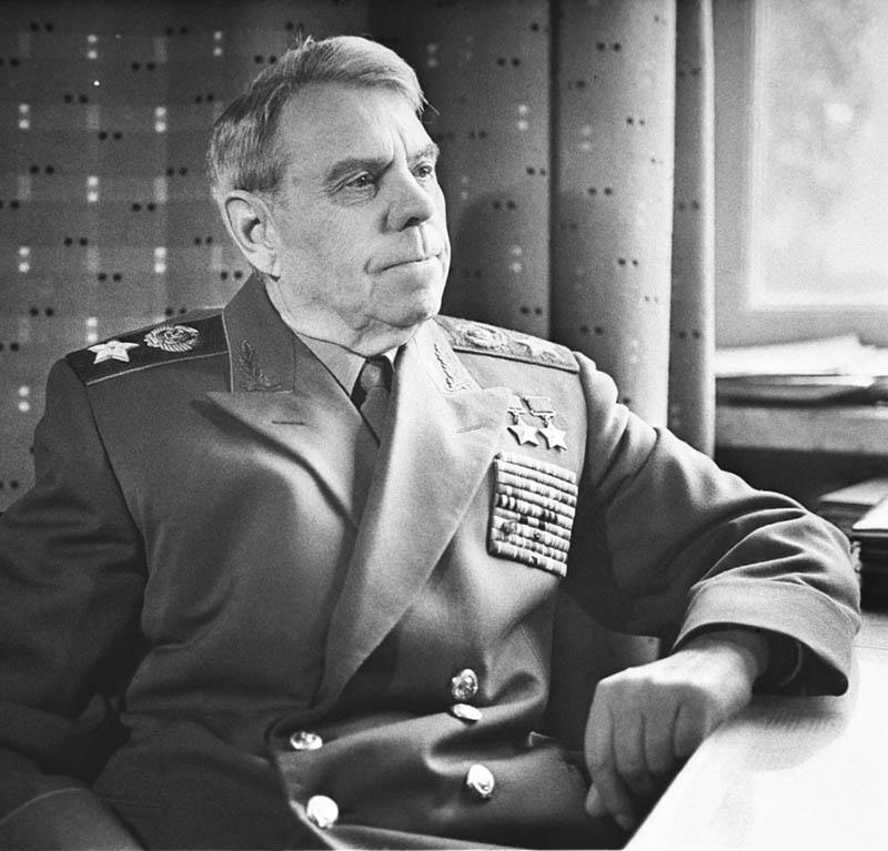 Маршал А.М. Василевский.