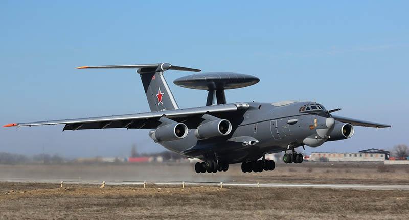 А-100 - самолёт дальнего радиолокационного обнаружения и управления на базе Ил-76МД-90А.