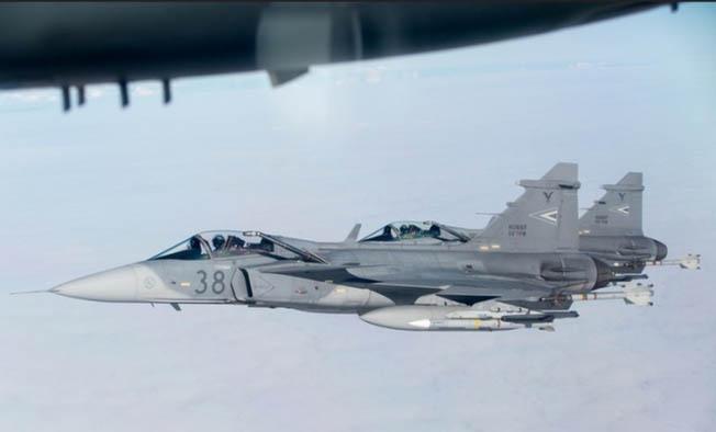 Тренировки ВВС «Ramstein Alloy 19-1».
