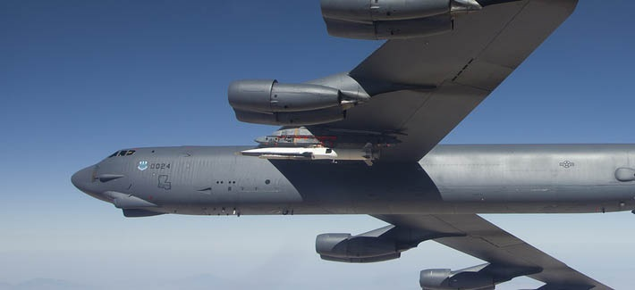 Ракета X-51A Waverider.