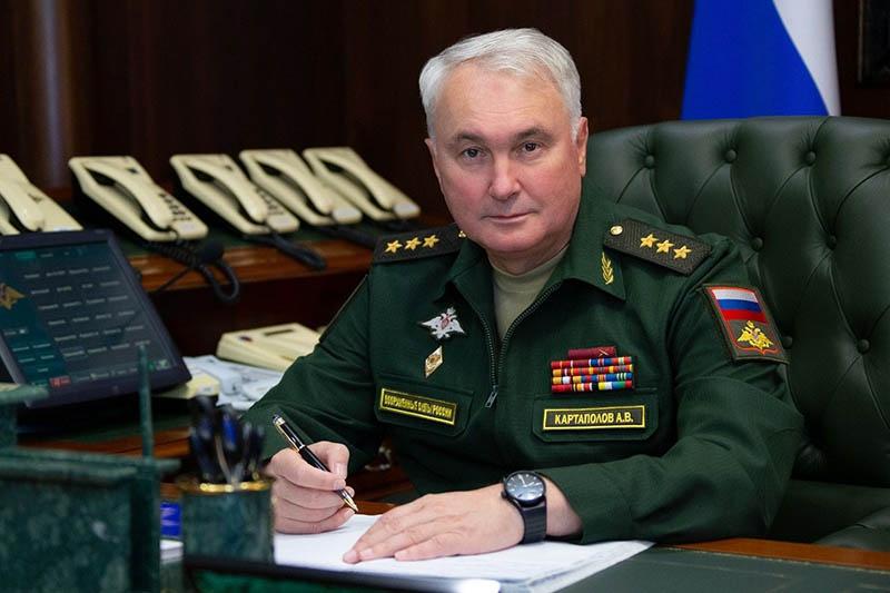 Начальник ГВПУ - заместитель министра обороны России генерал-полковник Андрей Картаполов.