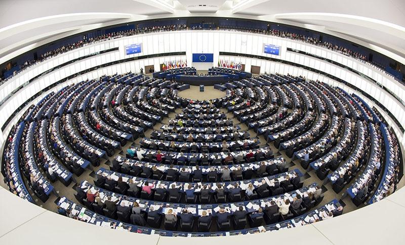Заседание Европейского парламента.