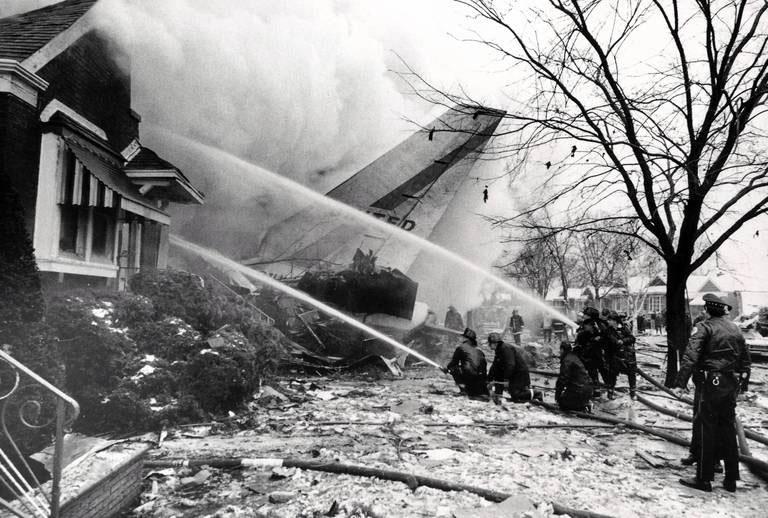 Катастрофа Boeing 737 в Чикаго в 1972 году.