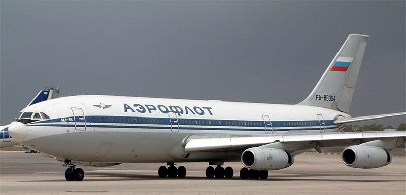 Ил-86 - надёжнейший в мире самолёт, ни разу, за более чем 20 лет эксплуатации, не упавший с пассажирами.