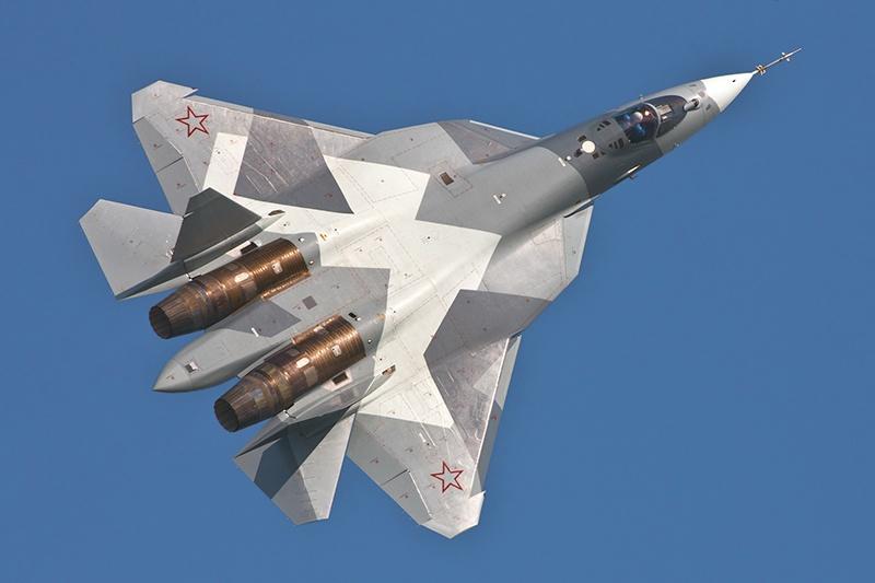 Су-57 умеет видеть больше чем другие.