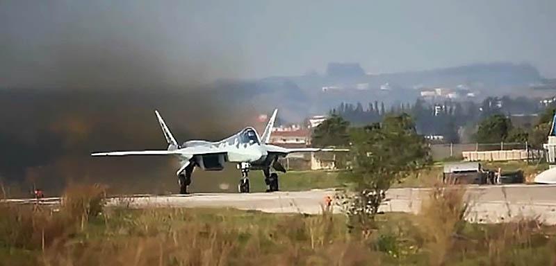 Су-57 получил своё боевое крещение в Сирии.