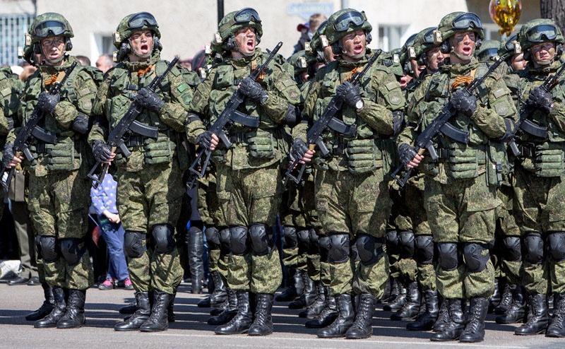 Морские пехотинцы получили экипировку «Ратник».