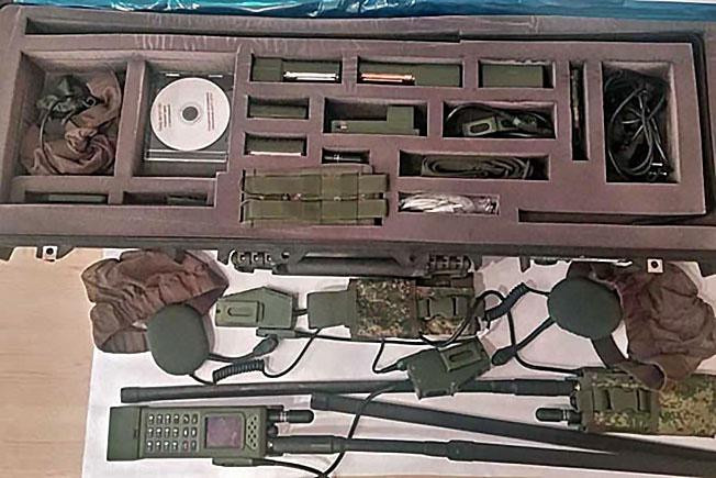 Радиостанция Р-187-П1 («Азарт-П1»).