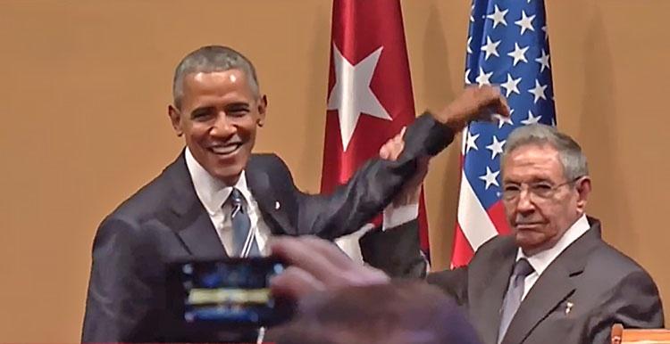 Барак Обама «прокололся» только во время встречи с Раулем Кастро.